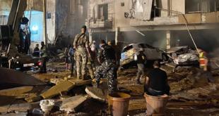 قتلى وجرحى في انفجار معمل لتصنيع الخزانات في بيروت