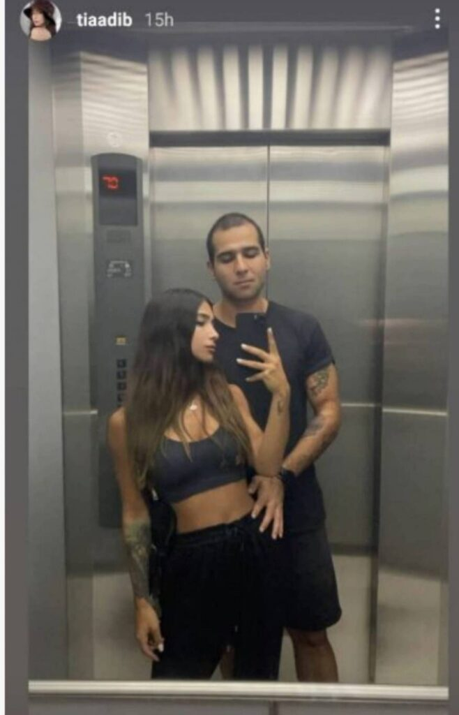 ابنة نوال الزغبي تثير الجدل بصورة مع حبيبها