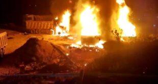 عشرات الضحايا والجرحى في انفجار خزان بنزين في التليل العكارية
