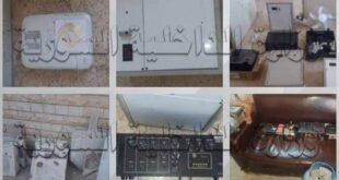 سارقي مدارس حكومية في مناطق بريف دمشق