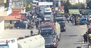 سوريا من نقل المازوت إلى لبنان