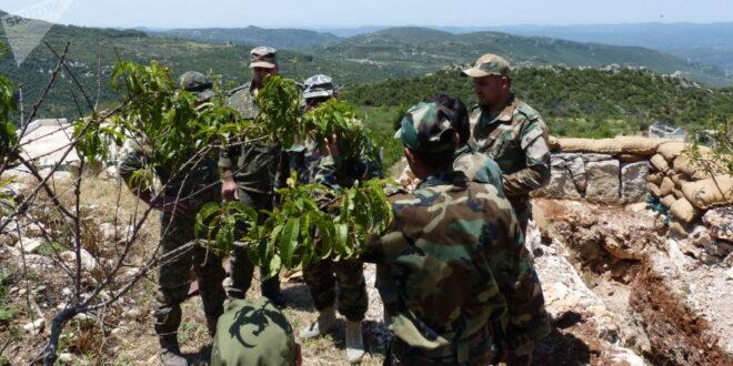 الدفاع الروسية: استشهاد عسكري سوري في إدلب