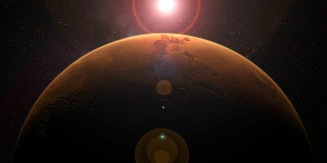 """""""ناسا"""" تكشف عما حدث في المريخ وكاد أن يحجب أشعة الشمس... فيديو"""