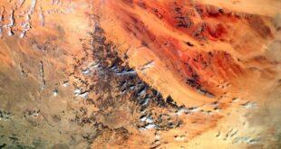 """رائد فضاء يلتقط صورة مهيبة لـ""""حافة الأرض"""" المخيفة... صور"""