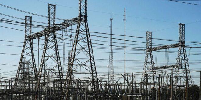 87 كم مدمرة من خط الكهرباء الذي يربط الأردن مع لبنان عبر سورية و 12 مليار ليرة لإعادة تأهيله