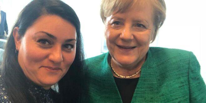 أول سورية تدخل البرلمان الألماني