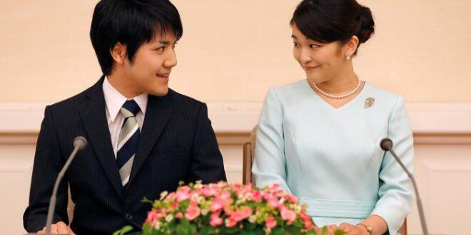 أميرة يابانية تتنازل عن مليون دولار لتتزوج شاباً من العامة