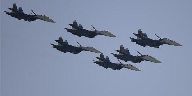 غارات جوية روسية تضرب مواقع مسلحي