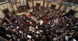 """طالبت عضو مجلس الشعب السوري """"جويدة ثلجة"""" في مداخلة لها خلال الجلسة الثانية من الدورة العادية الرابعة للدور التشريعي الثالث"""