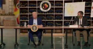 """""""فوكس نيوز"""": البيت الأبيض يوقف فجأة بث اجتماع لبايدن"""