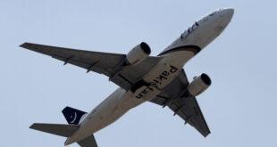أول رحلة طيران شركة دولية تحط في مطار دمشق
