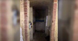 بريطاني يكتشف أنفاقا خفية تحت منزله فيها قطع أثرية (فيديو)