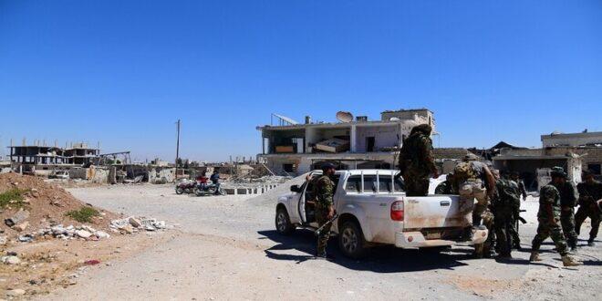 الجيش السوري يدخل تل شهاب بريف درعا الغربي ويبدأ بتسوية أوضاع المطلوبين