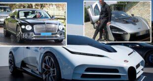 """بعد انضمام """"بنتلي فلاينغ سبير"""".. تعرف على أسطول سيارات كريستيانو رونالدو البالغ 23 مليون دولار"""