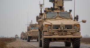 القوات الأمريكية تدخل 50 آلية محملة بعتاد عسكري