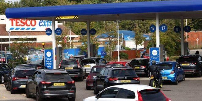 أزمة وطوابير على الوقود في بريطانيا.. شاهد!