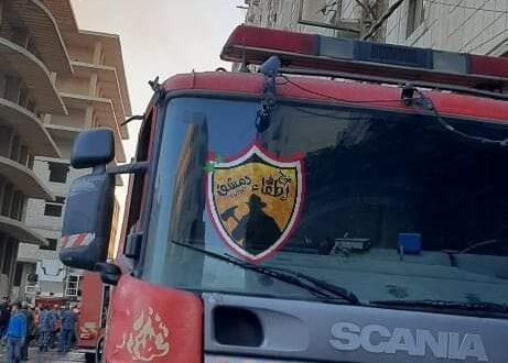 1400 حريق بدمشق منذ بداية العام وفوج الإطفاء يتوقع ازدياد الحرائق