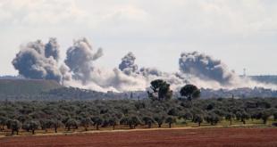 صاعد الضربات الجوية في شمال غربي سوريا