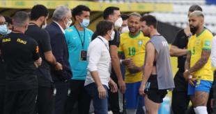 انهاء مباراة البرازيل والأرجنتين بعد دقائق من بدايتها.. والسبب؟