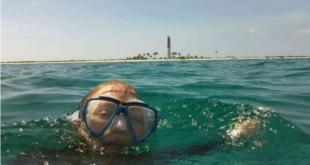 لحظه العاثر هرب من اليابان إلى اليابان.. روسي يسبح 23 ساعة لسبب صادم