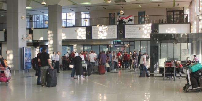 وزارة النقل توضح حقيقة سرقة أمتعة الركاب في مطار دمشق الدولي