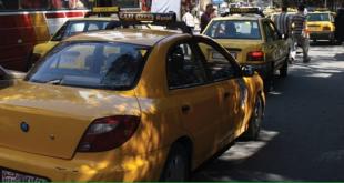 توقيف 200 سائق تكسي مخالف في دمشق خلال أسبوع