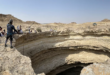 """كتابات عربية غامضة في """"بئر برهوت"""" المرعب في اليمن"""