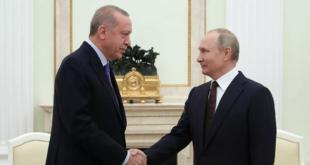 بوتين وأردوغان يبحثان الوضع في سوريا وإدلب