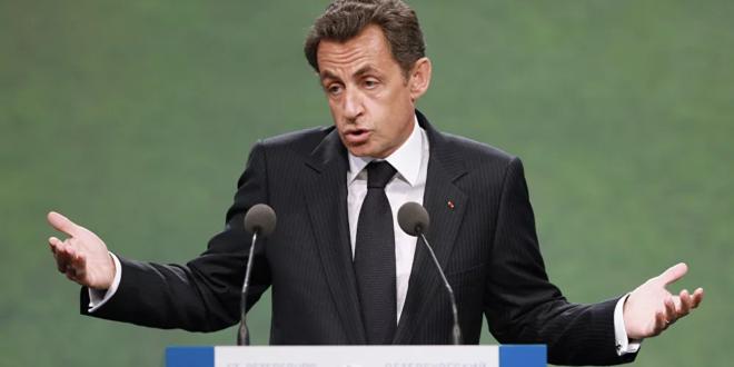 الحكم بسجن ساركوزي لمدة سنة