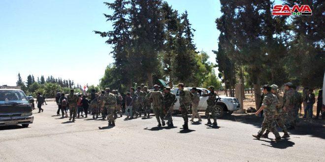 وحدات الجيش السوري تنتشر في عدة قرى جديدة بحوض اليرموك