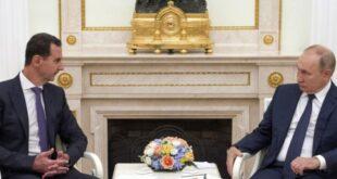شاهد: الرئيس الأسد يرد على بوتين بالروسية.. ماذا قال؟