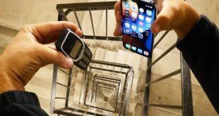 بالفيديو : آيفون 13 يتمكن من التغلب على Nokia 3310 في اختبار التحمّل
