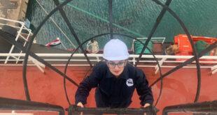 """مهندسة سورية تنجز أول رحلة في مهنة النقل البحري على متن """"لاواديسا"""""""