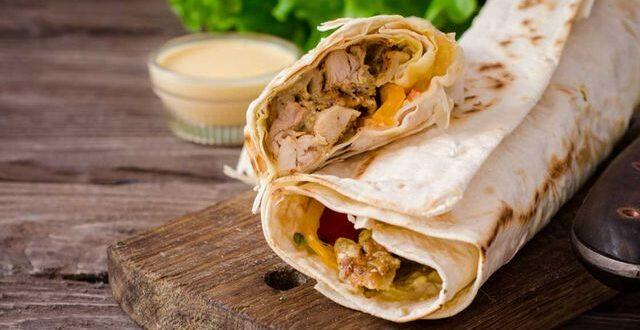 طريقة شاورما الدجاج السوري مع تتبيلة الشاورما السورية للمطاعم