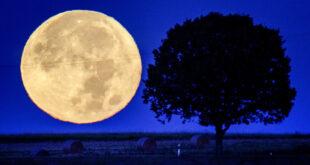 """رصد جسم مجهول يشبه """"نجمة الموت"""" يحلق فوق القمر... فيديو"""