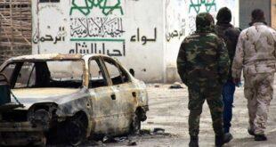 استشهاد عسكري سوري