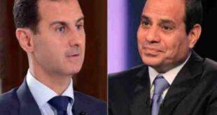 مصادر: تحضيرات لتواصل مباشر بين الأسد والسيسي الأوّل من نوعه مُنذ أكثر من 10 سنوات