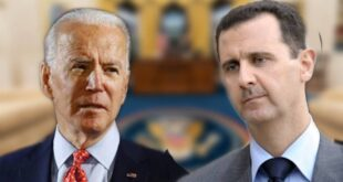 بايدن على منع الانفتاح العربي على سورية