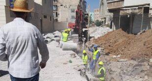 """المجلس النرويجي يباشر بأكبر مشاريع """"الصرف الصحي"""" على مستوى ريف دمشق في داريا"""