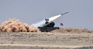 سوريا دفاعاتها الجوية لصد العدوان الإسرائيلي