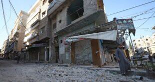 قصف مدفعي سوري على عدة مواقع في ادلب