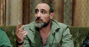 عبدو شاهين يودع الهيبة برفقة زوجته النجمة السورية