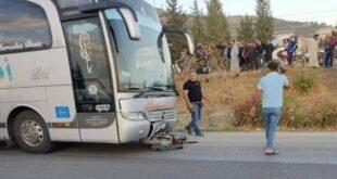وفاة 3 أشخاص كانوا يستقلون دراجة نارية بحادث سير في سوريا