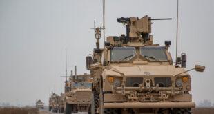 أهالي بلدة في القامشلي يعترضون رتلا عسكريا للجيش الأمريكي.. شاهد!