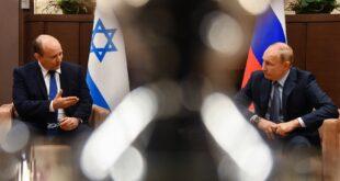 بوتين لبينيت: لدى روسيا وإسرائيل