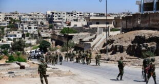 بدء عملية تسوية أوضاع المسلحين والمطلوبين في مدينة زرع والشيخ مسكين بريف درعا