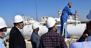 """وفد سوري لبناني مصري يتحقق من جاهزية """"خط الغاز العربي"""