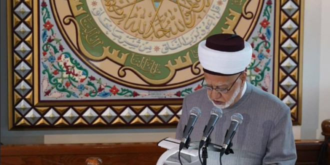 وفاة مفتي دمشق الشيخ بشير عبد الباري