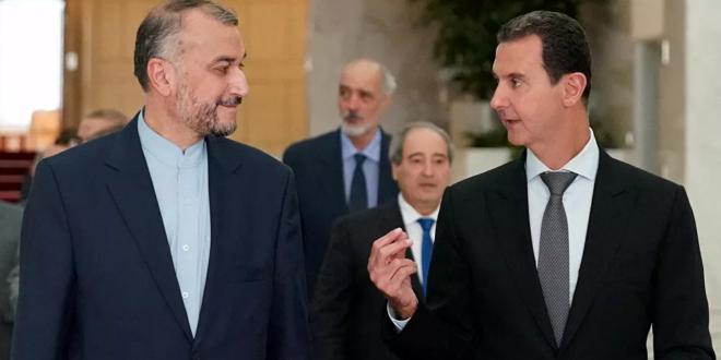 ما الذي قاله الرئيس الأسد في لقائه مع اللهيان