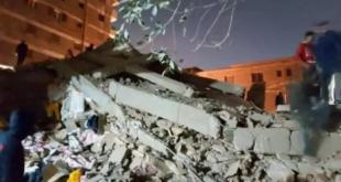شاهد.. انهيار أرضي يبتلع سيارات في مدينة روسية
